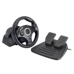Trust GXT 27 Force Vibration Steering Wheel for PS3/2 & PC