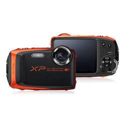 Fuji FinePix XP90 Tough Camera Orange 16.4MP 5x Zoom Wtprf