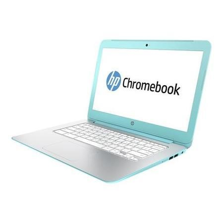 Refurbished Grade A1 HP 14-x000na Chromebook NVidia Tegra K1 2GB 16GB 14 inch Google Chrome OS Laptop in Turquoise