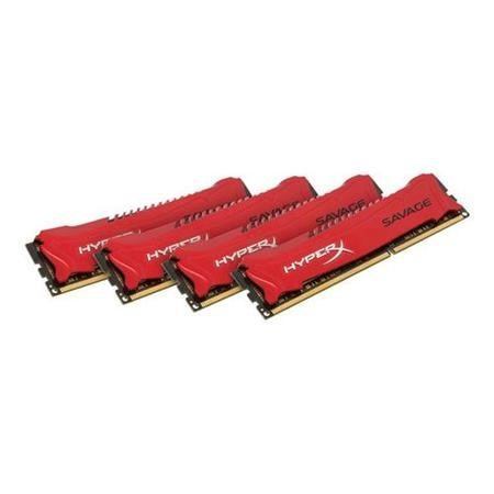 HyperX Savage 32GB 4x8GB DDR3 1866MHz 1.5V DIMM Memory Kit