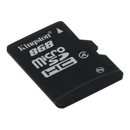 SDC4/8GBSP Kingston 8GB MicroSDHC C4 Card No Adp