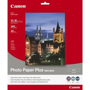 Canon Photo Paper Plus SG-201 - semi-gloss satin photo paper - 50 sheets