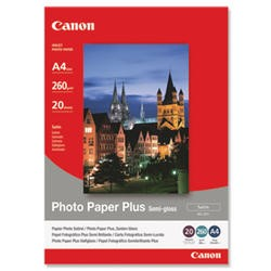 Canon SG-201 Photo Paper Plus Semi Gloss (20 Sheets)