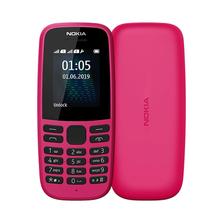 Nokia 105 2019 Pink 1 77 4mb 2g Unlocked Sim Free Laptops Direct