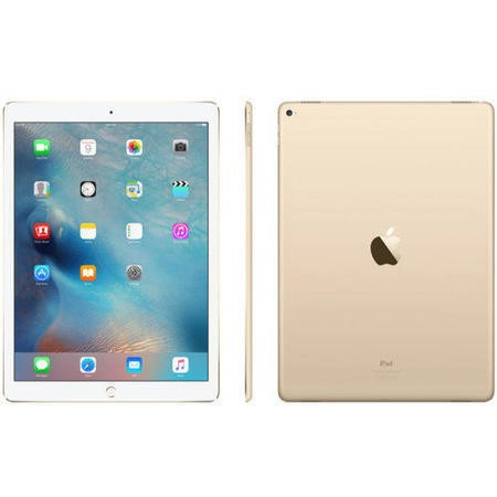 Apple iPad Pro 128GB WIFI + Cellular 3G/4G 12.9 Inch iOS 9 Tablet - Gold