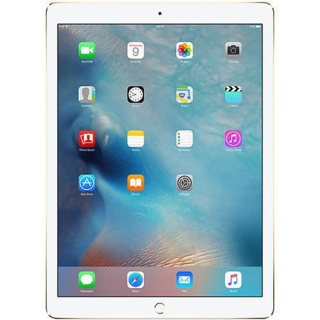 77396029/1/ML3Q2B/A GRADE A1 - Apple iPad Pro 128GB WIFI + Cellular 3G/4G 12.9 Inch iOS 9 Tablet - Gold