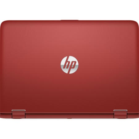 "Refurbished HP Pavilion x360 13-s154sa 13.3"" Intel Core i3-6100U 2.3GHz 4GB 1TB Windows 10 Multi-point Touchscreen 2 in 1 Laptop in Red"