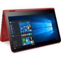 "Refurbished HP Pavilion x360 13-s154sa 13.3"" Intel Core i3-6100U 2.3GHz 4GB 1TB Windows 10  Convertible Laptop in Red"