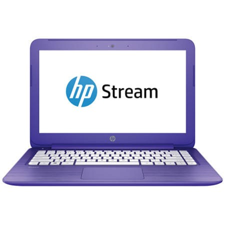 "A1/L2T28EA/1YR Refurbished HP Stream 13-C101NA 13.3"" Intel Celeron N3050 2GB 32GB Windows 10 Laptop in Purple"