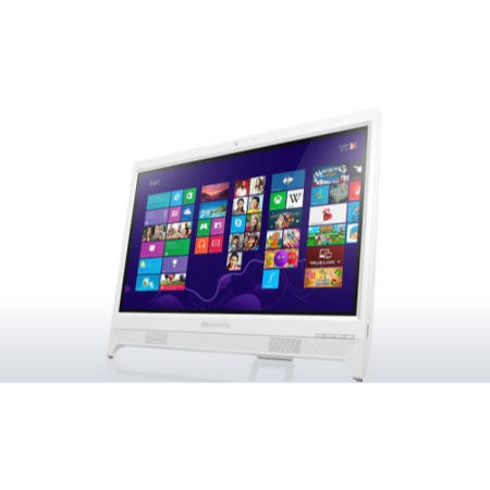 "Refurbished Lenovo C260 19.5"" Intel Pentium J2900 2.41GHz 4GB 1TB DVD-RW Windows 8.1 All In One In White"