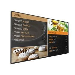 "49"" Black LED Large Format Display, Full HD, 500 cd/m2, 24/7 Operation"