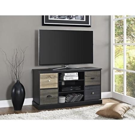 "Mercer TV Console for TV's up to 50"" in Black"