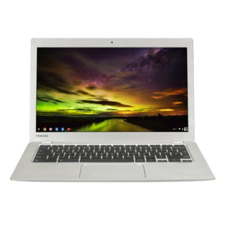 "A1/PLM02E-00E003EN Refurbished Toshiba CB30-B-103 13.3"" HD Intel Celeron N2840 2GB 16GB Chrome OS Chromebook"