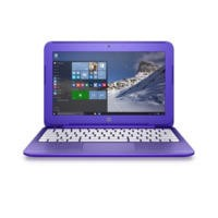 "Refurbished HP Stream 11-R001NA 11.6"" Intel Celeron N3050 1.6GHz 2GB 32GB Win10 Laptop in Violet"