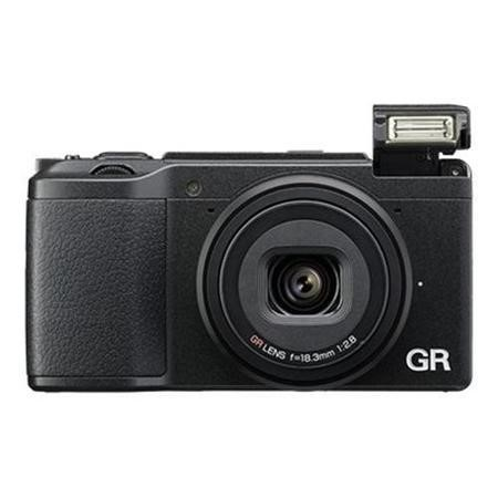 Ricoh GR II Camera Black 16MP 3.0LCD FHD 18.3mm Wide Lens F2.8 WiFi