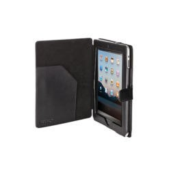 Trust Organiser and Folio Stand for iPad - Black Compatible with iPad 2/3/4