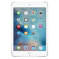 Apple iPad Mini 4 128GB Wi-Fi & Cellular Tablet - Silver