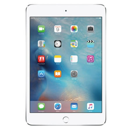 MK8E2B/A Apple iPad Mini 4 128GB Wi-Fi & Cellular 3G/4G Tablet - Silver