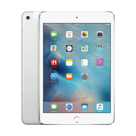 MK9P2B/A Apple iPad Mini 4 128GB 7.9 Inch iOS 9 Tablet - Silver