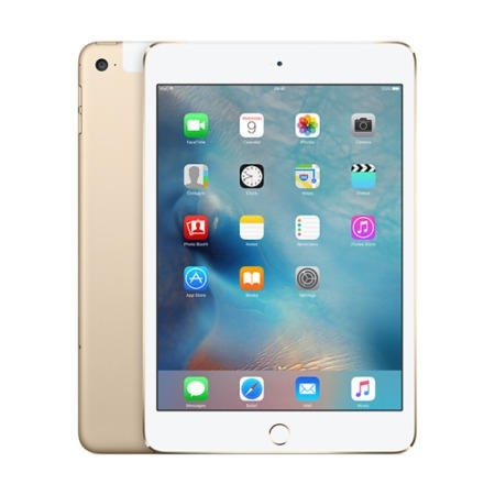 Apple iPad Mini 4 128GB 7.9 Inch iOS 9 Tablet - Gold