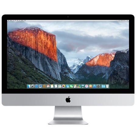 "A3/MK462B/A Refurbished Apple iMac 5K 27"" Intel Core i5 3.2GHz 8GB 1TB Radeon R9 M380 Graphics Retina All In One PC - 2015"