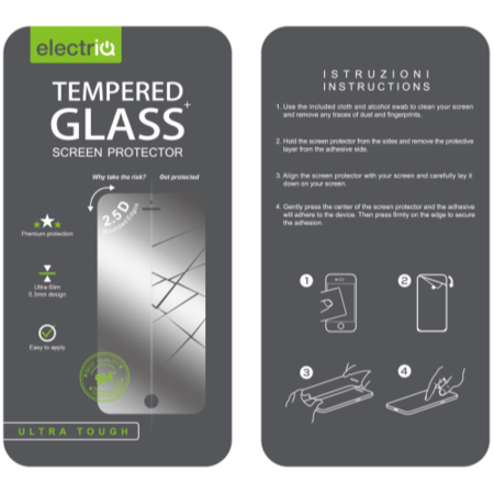 IQ Magic Tempered Glass Protector For APPLE iPHONE 5/5S/5C/SE