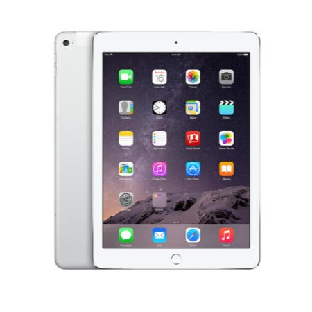 Apple iPad Air 2 9.7 inch 64GB Wi-Fi Cellular Tablet in Silver