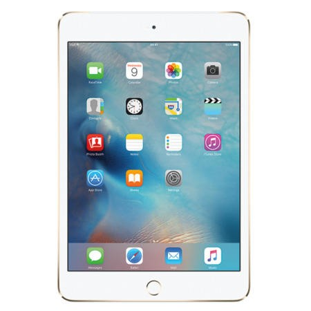 MK8F2B/A Apple iPad Mini 4 128GB Wi-Fi & Cellular 3G/4G Tablet - Gold