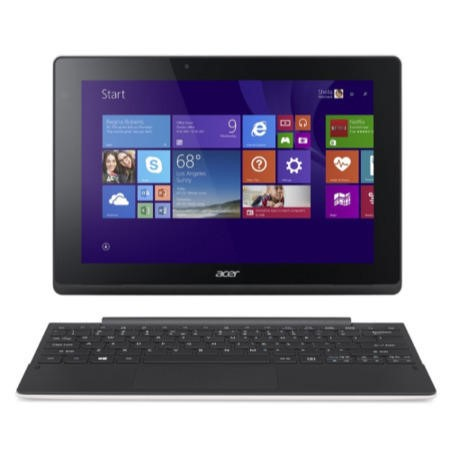 "Refurbished Acer Aspire Switch 10 10.1"" Intel Atom Z3735F Quad-Core 1.33GHz 2GB 32GB SSD Convertible Touchscreen Windows 8.1 All in One Laptop"