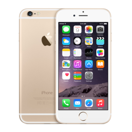 "Refurbished Apple iPhone 6 Gold 4.7"" 16GB 4G Unlocked & SIM Free"