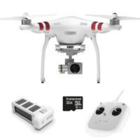 DJI Phantom 3 Standard Ready To Fly 2.7K QHD Camera Drone With 3 Axis Gimbal Smart GPS Flight Modes & Return To Home + 32GB Class 10 Micro SD Card