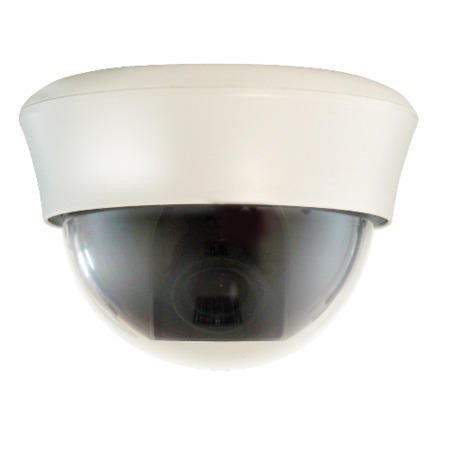 GRADE A1 - As new but box opened - UTC 520TVL Varifocal 3.5-8mm Internal Dome CCTV Camera White