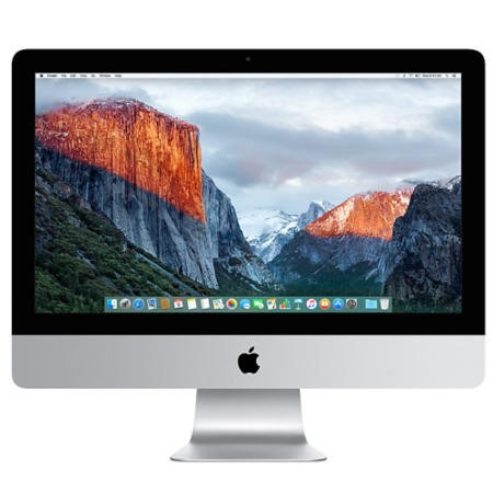 "A2/MK142B/A Refurbished Apple iMac 21.5"" All in One Intel Core i5 1.6GHz 8GB RAM 1TB OS X El Capitan Laptop -2015"