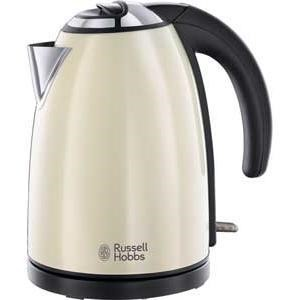 Russell Hobbs 18943 Colours Cream Stainless Steel 1.7lt Jug Kettle