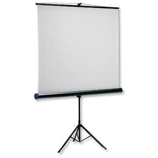 NOBO projection screen with tripod