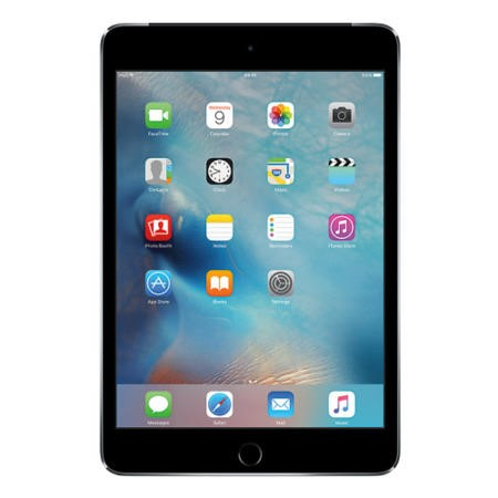 MK9N2B/A Apple iPad Mini 4 128GB 7.9 Inch iOS 9 Tablet - Space Grey