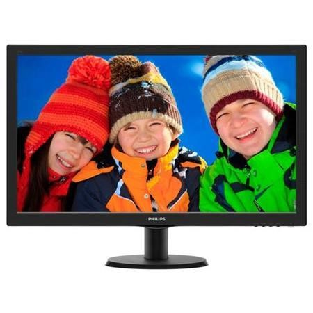 "GRADE A1 - As new but box opened - Philips 273V5LHSB/00 27"" LED 1920x1080 VGA HDMI - Black"