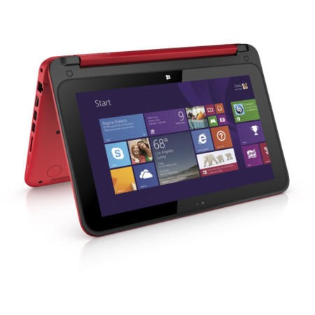 "Refurbished HP Pavillion x360 13-s060sa 13.3"" Intel Core i3-3010U 2.1GHz 4GB 1TB Touchscreen Windows 8.1 Laptop in Red"
