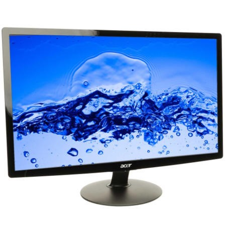 "A2 Refurbished Acer S240HL 24"" LED DVI HDMI Full HD Monitor - Black"