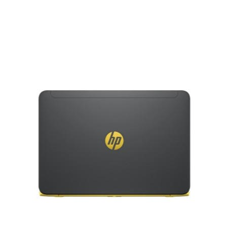 GRADE A1 - As new but box opened - HP SlateBook 14-P000NA 2GB 32GB 14 inch Full HD Touchscreen Android Laptop in Space Silver & Yellow