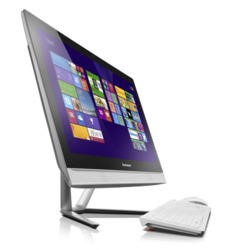 "A1 Refurbished Lenovo C50-30 Intel Core i3-4005U 1.7GHz 8GB 1TB DVD 23"" Windows 8 All-In-One"