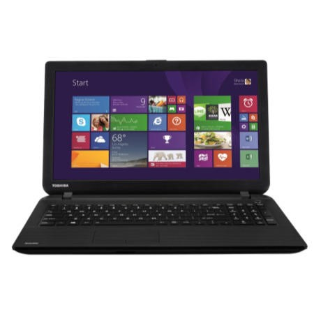 Refurbished Grade A2 Toshiba Satellite C50D-B-120 AMD E1 4GB 500GB 15.6 inch Windows 8.1 Laptop in Black