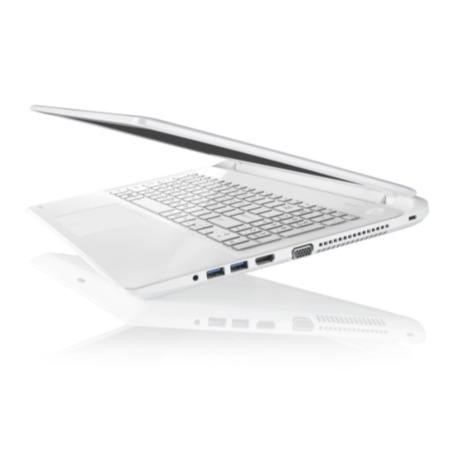 Refurbished Grade A1 Toshiba Satellite L50-B-1DZ Pentium Quad Core 4GB 750GB 15.6 inch DVDSM Windows 8.1 Laptop in White