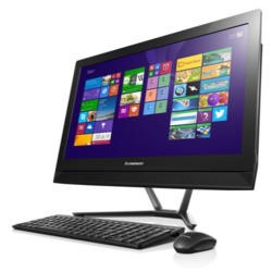 "GRADE A1 - As new but box opened - Lenovo C50-30 Intel Core I3-4005U 8GB 1TB DVDRW 23"" Windows 8.1 All In One PC - Black"