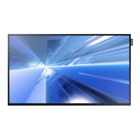 "55"" Black LED Large Format Display, Full HD, 350 cd/m2, 16/7 Operation"