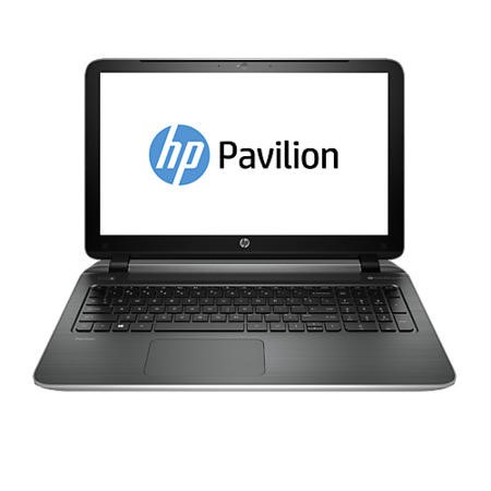 Refurbished Grade A1 HP Pavilion 15-p261sa AMD A6410 Quad Core 8GB 1TB 15.6 inch DVDSM Windows 8.1 Laptop in Silver