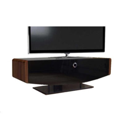 Ex Display - As new but box opened - MDA Designs Orion TV Cabinet in Black Oak & Walnut up to 55 inch