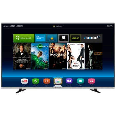 Ex Display - As new but box opened - Hisense LTDN40K370WTEU 40 Inch Smart LED TV