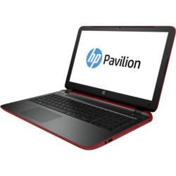 "Refurbished HP Pavilion 15-p246sa 15.6"" Core i3-5010U 2.1GHz/3MB 8GB 1TB Windows 8.1 Laptop in Red/Ash Grey"