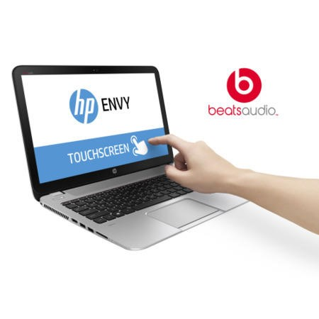 Refurbished Grade A1 HP ENVY TouchSmart 15-j184na Core i5 4GB 1TB NVIDIA GeForce GT 840M 2GB 15.6 inch Full HD Touchscreen Laptop